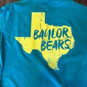 Comfort Colors Tops - Baylor comfort colors tee